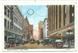 ///  CPA - Amérique - Etats Unis - MINN - MINNESOTA - Robertts Street - St Paul  // - St Paul
