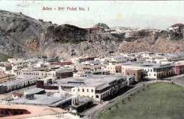 ADEN - Ster Point No. 1, Gel.1909, Indische Frankierung - Jemen
