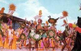 TRINIDAD CARNEVAL ON STAGE, Karte Gel.1974 V. Martinique > Paris - Trinidad