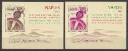 RWANDA 1967 - Europa 1967, Expo De Naples - 2 BF Neuf // Mnh - Rwanda