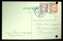 WW-1 * HANDGESCHREVEN BRIEFKAART COMITE VLUCHTELINGEN Uit 1915  LOKAAL GOUDA (9819s) - 1891-1948 (Wilhelmine)