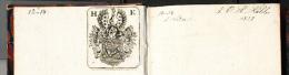 Libro 1826 Histoire De NAPOLEON & De La GRANDE ARMEE En 1812 Publié Par Abbé Mozin & Charles Courtin Armoirie H KOHLER - Libros, Revistas, Cómics