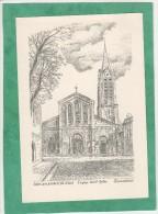 Saint-Leu-La-Forêt L'église Saint-Gilles - Ducourtioux - Saint Leu La Foret