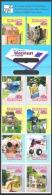 Neuseeland New Zealand 1997 Postgesichte Briefkasten Briefkästen Postzustellung Kultur Kunst Brauchtum, Mi. 1590-9 ** - Neuseeland