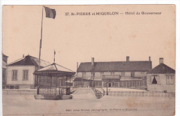 Saint-Pierre Et Miquelon    Hôtel Du Gouverneur - Saint-Pierre-et-Miquelon