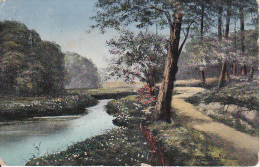 AK Flusslandschaft - Künstlerkarte - 1919 (15806) - Ohne Zuordnung