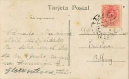 13394. Postal TARREGA (Lerida) 1920 A Bellpuig - 1889-1931 Reino: Alfonso XIII