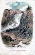 Chûte D'eau De Lötefos (Norwège) - Norvegia