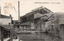 51 Sermaize  Les Bains  Vue Sur La Saulx - Sermaize-les-Bains