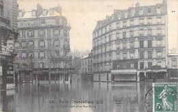 PARIS 75 - INONDATIONS JANVIER 1910 ( Paris Inondations  )  La Rue De Lyon Prise Rue Parrot - CPA - Seine - Alluvioni Del 1910