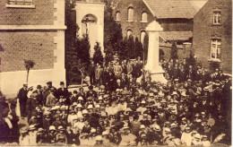 Stockheim Inhuldiging Van Het Vaandel Der Oud-strijders 1922  Veel Volk - Dilsen-Stokkem