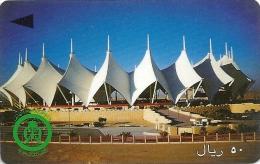 Saudi Arabia - Modern Stadium - 50 Riyals - SAUDG - 1996, Used - Arabia Saudita