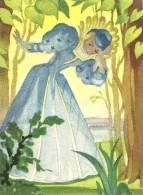 """Image MENIER N° 105 Par Jean Adrien MERCIER - Album """"Il était Une Fois"""" - Riquet à La Houppe - 1953 - TBE - Trade Cards"""