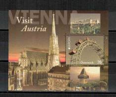 Österreich / Austria / L'Autriche 2012 Block/souvenir Sheet EUROPA ** - Europa-CEPT