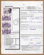 Régie Des Postes Ordre De Conservation Provisoire Walhain-St-Paul - Postdocumenten