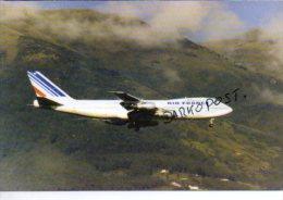 Boeing B747-228B Air France Airlines B 747 Aereo Avion B.747  Aircraft Aviation Aiplane B-747 - 1946-....: Ere Moderne