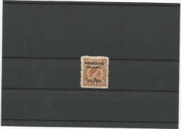 1902-03 NUEVA ZELANDA - PENRHYN ISLAND ,Nº 4 CATALOGO YVERT, GRAN BRETAÑA - 1855-1907 Colonia Británica