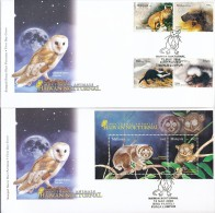 MALAYSIA Mi.Nr. 1546-1549,Block 124 Nachtaktive Tiere - FDC - Malaysia (1964-...)