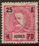 Azores - 1906 D. Carlos 25 Réis - Azores
