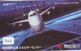 Télécarte  *  (2102) Phonecard Airplane * Flugzeug Avion * AVION * AIRLINES * - Flugzeuge