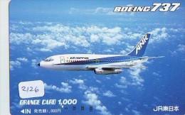 Télécarte  * ANK (2126) Phonecard Airplane * Flugzeug Avion * AVION * AIRLINES * - Aviones
