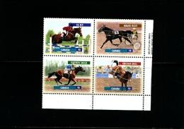 CANADA - 1999  CANADIAN  HORSES  BLOCK  MINT  NH - 1952-.... Regno Di Elizabeth II