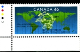 CANADA - 1999  UNIVERSAL POSTAL UNION  MINT  NH - 1952-.... Regno Di Elizabeth II