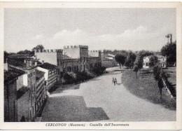 Lombardia-mantova-cerlongo Veduta Panorama Interno Cerlongo E Castello Dell'incoronata Anni 40/50 - Other Cities