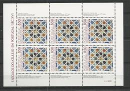 1981 MNH Portugal,  Azulejos 2, Postfris - Blocs-feuillets