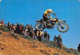 """03551  """"MOTOCROSS  - IMMAGINE DI GARA"""".  ANIMATA. CART. POST. ORIG. NON SPEDITA. - Motociclismo"""