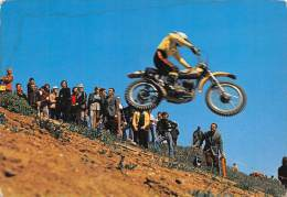 "03551  ""MOTOCROSS  - IMMAGINE DI GARA"".  ANIMATA. CART. POST. ORIG. NON SPEDITA. - Motorcycle Sport"