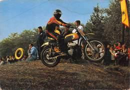"""03553  """"MOTOCROSS  - IMMAGINE DI GARA"""".  ANIMATA. CART. POST. ORIG. NON SPEDITA. - Sport Moto"""