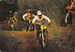 """03554  """"MOTOCROSS  - IMMAGINE DI GARA"""".  ANIMATA. CART. POST. ORIG. NON SPEDITA. - Motociclismo"""
