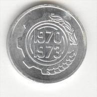 5 Centimes Algérie / Algeria 1970 FAO UNC - Algérie