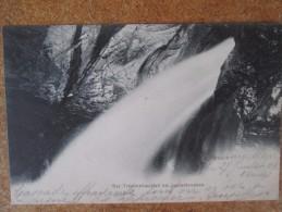DER TRUMMELBACHFALL BEI LAUTERBRUNNEN DOS 1900 - Switzerland