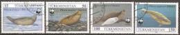 Turkménistan - 1993 - Phoques - YT 40 à 43 Oblitérés - Turkménistan