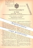Original Patent - Hugo Wegelin In Augsburg , 1904 , Kurbel Für Motorräder , Motorrad , Fahrzeugbau , Kurbelwelle !!! - Motorräder