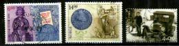 Norvège Oblitérés Y&T N°1271.1272.1276. - Oblitérés