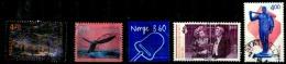 Norvège Oblitérés Y&T N°1261.1301.1302.1286.1269. - Oblitérés