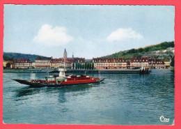 C-P-M-(76.Seine-Maritime.) Caudebec-en Caux.Le Passage Du Bac. En 1967 - Caudebec-en-Caux