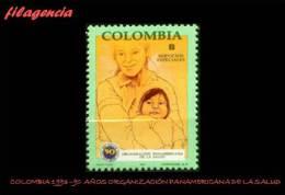 AMERICA. COLOMBIA MINT. 1993 90 AÑOS DE LA ORGANIZACIÓN PANAMERICANA DE LA SALUD - Colombia