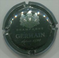 CAPSULE-CHAMPAGNE GERMAIN N°33c Quart Vert & Argent - Germain