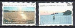 AAT Australian Antarctic Territory -1987 - Antarctic Scenes -  Mi.74,75 - Used - Australian Antarctic Territory (AAT)