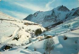 Photo Cpsm 05 LA GRAVE. La Meije. Le Chazelet 1973. Départ Des Remontés Mécaniques - Autres Communes