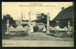 37 - LA CROIX - RARE - Robinson 1000 Mottes Curiosité - L´Entrée - Passage De La Lune - ANIMÉE - Autres Communes