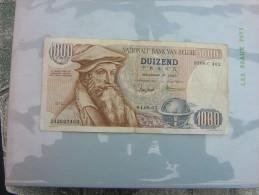 Beau Billet Belge De 1 000 Francs Du 01-08-67 - Belgique