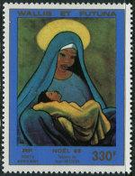 Wallis Et Futuna 1985. Michel #496 MNH/Luxe. Christmas. (TS15) - Poste Aérienne