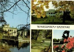 WARSZAWA LAZIENKI  Multivues Recto Verso Beau Timbre  Olympique Cyclisme - Poland