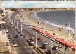 La Baule.. Animée.. Le Boulevard De L'Océan.. La Plage.. Voitures.. DS Citroën - La Baule-Escoublac