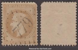 *PROMO* GC 779 (Caudiès-de-St-Paul, Pyrénées-Orientales (65)), Cote 67.5€ - Storia Postale (Francobolli Sciolti)